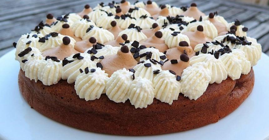 Mon gâteau d'anniversaire, moelleux au chocolat un peu comme un fantastik