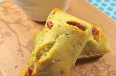 Crème de légumes légère & petits cakes au bacon