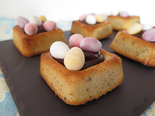 Petits nids de p ques au chocolat ma p 39 tite cuisine - Recette nid de paques au moka ...