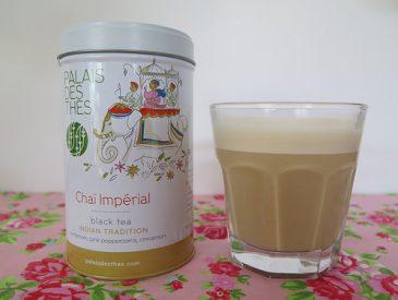 Une boisson réconfortante et gourmande, le Chaï Imperial latte [recette Indienne]
