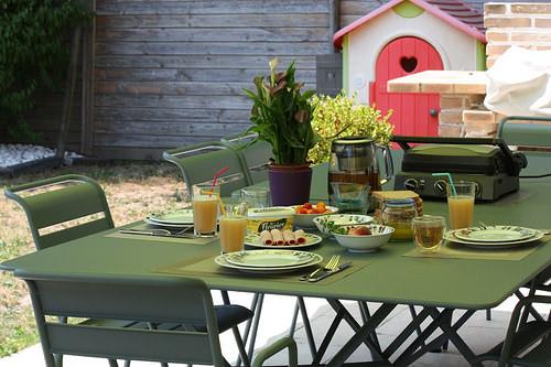 Vive l\'été, le soleil, la terrasse et notre nouveau salon de ...