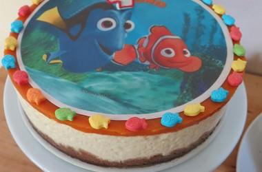 Cheesecake estival, pèche & abricot