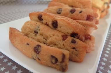 Cookies sticks aux pépites de chocolat et caramel