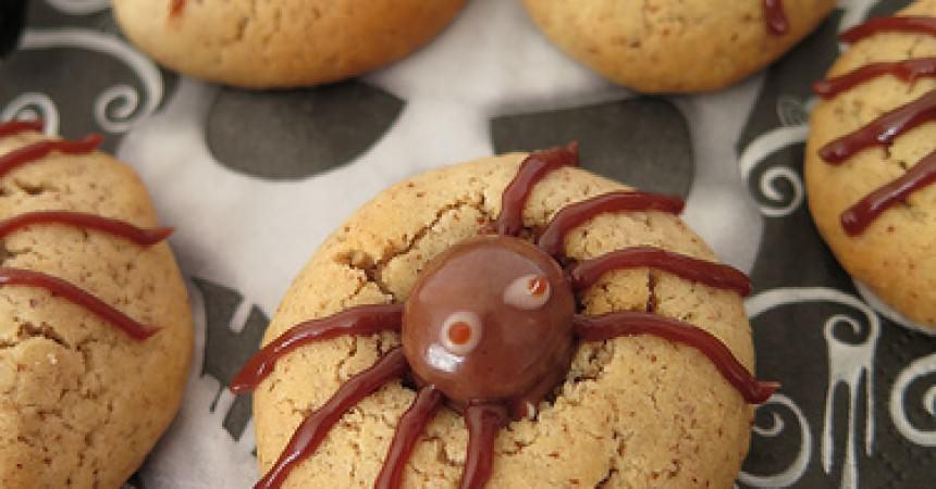 Spider cookies, les cookies araignées pour célébrer Halloween