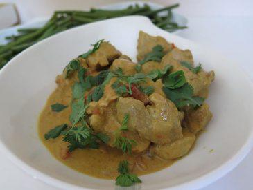 Curry de porc à la crème de coco [recette Indienne]