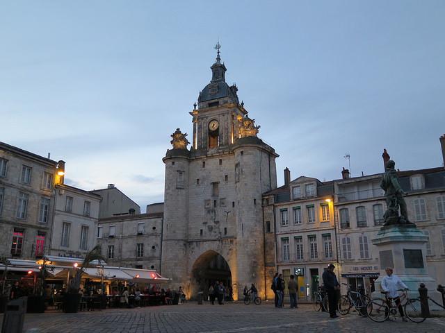Grosse Horloge - Vieux Port de la Rochelle
