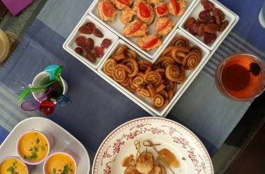 Un p'tit apéritif gourmand pour un dimanche en famille