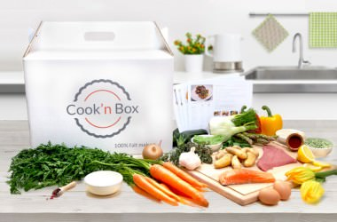 Cook'n box, une nouvelle offre pour vous faciliter les repas