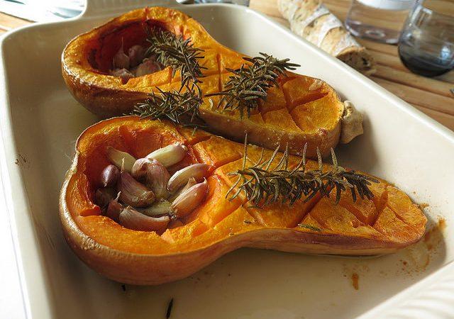 Butternut Rotie A L Ail Et Au Romarin Audrey Cuisine