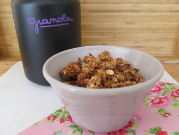 Mon Granola maison au miel