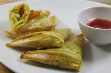 Samoussas aux légumes [recette légère]