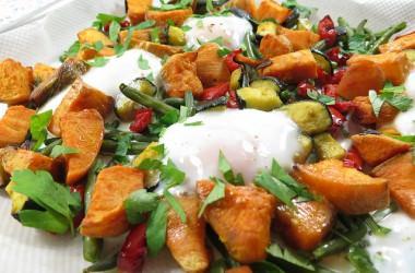 Oeufs aux légumes (recette légère)