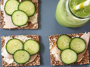 Green smoothie tout doux