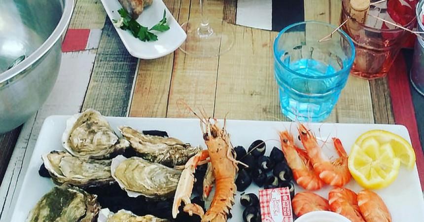 Ou déguster des huîtres sur le bassin ?