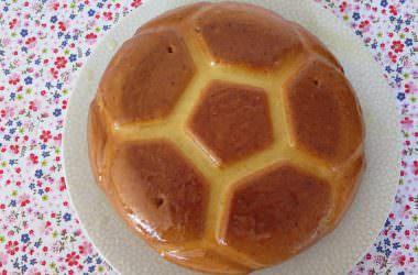 Gâteau au citron ballon de foot pour l'Euro