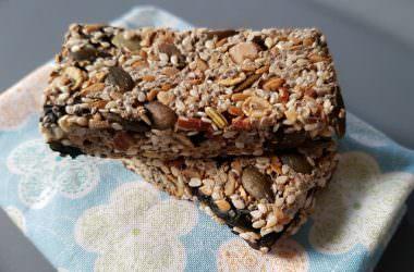 Barres de céréales healthy & sans sucres