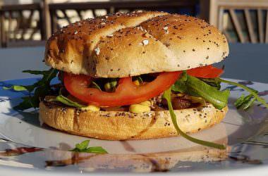 Burgers au confit d'oignons