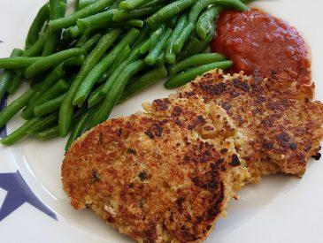 La recette facile des galettes de quinoa au crabe