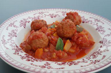 Boulettes végétariennes à la tomate