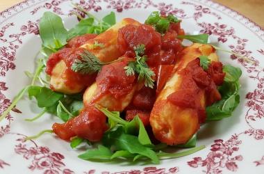 La recette des quenelles à la sauce tomate