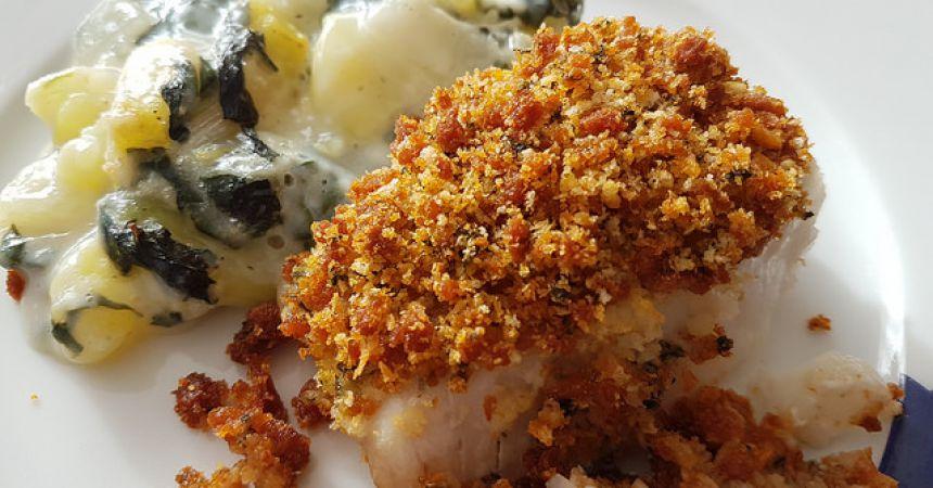 Dos de cabillaud en cro te de chorizo basilic ma p 39 tite cuisine - Comment cuisiner du cabillaud ...