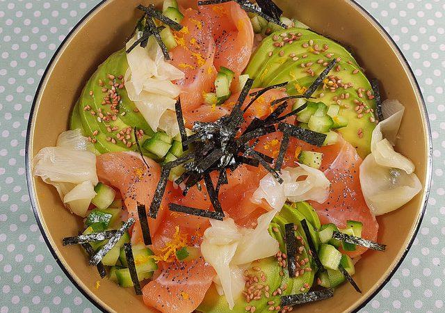 Chirashi Au Saumon Avocat Concombre Recette Japonaise Audrey