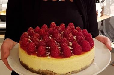 Mon Cheesecake préféré aux framboises