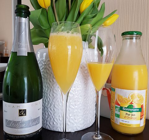 Cocktail Mimosa Parfait Pour Un Brunch De Printemps Audrey Cuisine