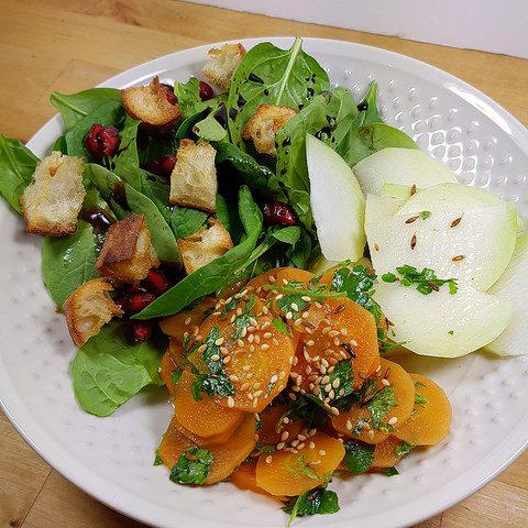 Salade de carottes à l'orange [Microvap Tupperware]