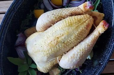 Poulet rôti sauge & citron