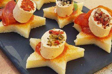 Bouchées de polenta aux saveurs du Sud