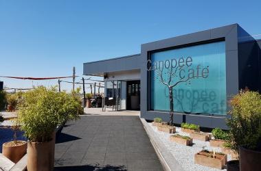 Le Canopee Café, restaurant en roof top à Mérignac