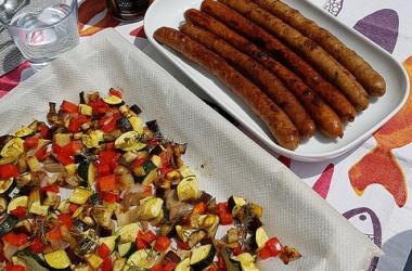 Légumes d'été rôtis au four