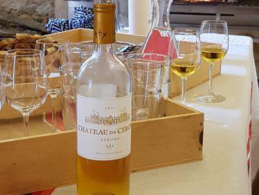 La Route des Vins de Bordeaux en Graves et Sauternes, le Château de Cérons