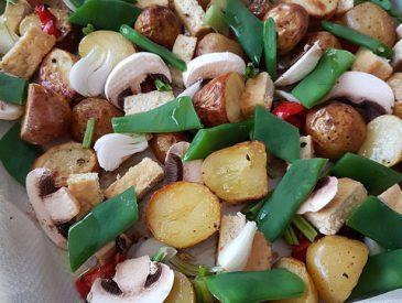 Légumes & pommes de terre grenailles rôtis