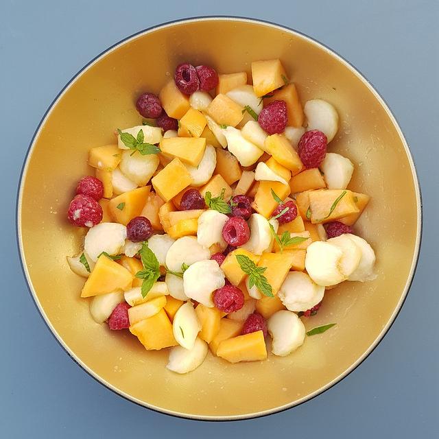 Salade de fruits la menthe ma p 39 tite cuisine - Ma p tite cuisine ...