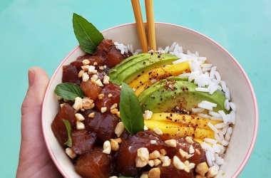 Poke Bowl thon, mangue & avocat