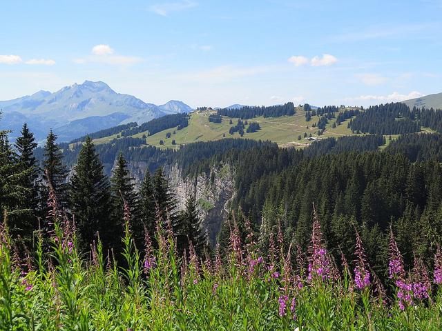 randonnée Mine de La Lappiaz et la Ferme de Seraussaix