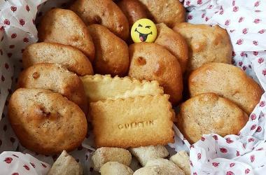 Les biscuits pour offrir à l'école