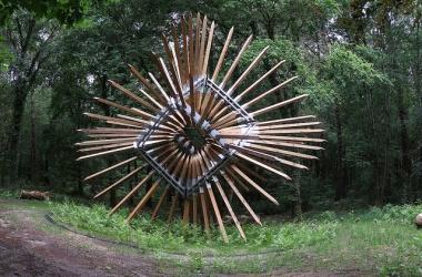 Forêt des 5 sens, Sentier de Land'Art du Château Smith Haut Lafitte
