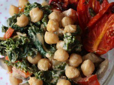 Curry de pois chiche au Kale