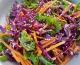 Salade de kale, chou rouge & carottes