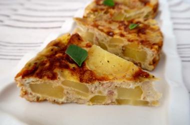 Omelette au four aux pommes de terre