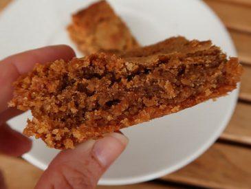 Brownies à la pralinoise [au Kenwood Cooking-Chef]