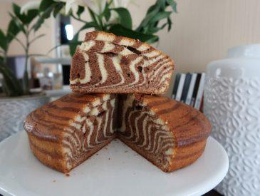 Zebra cake, le gâteau parfait pour le goûter (& cadeaux chocolatés à gagner)
