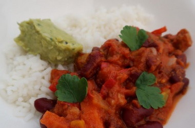 C'est lundi c'est veggie : chili aux légumes & soja