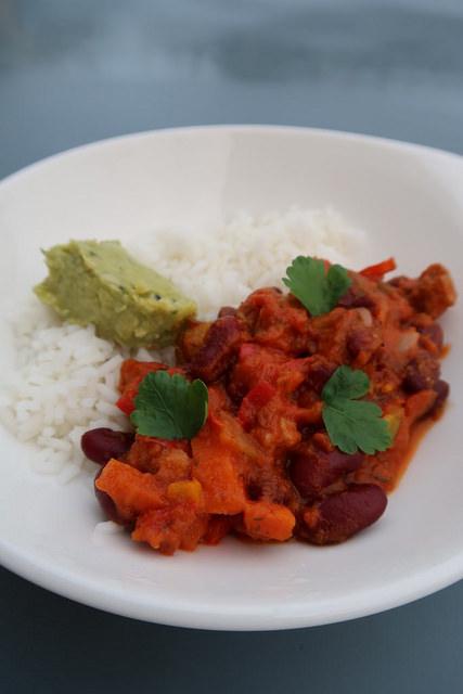 C 39 est lundi c 39 est veggie chili aux l gumes soja ma p 39 tite cuisine - Ma p tite cuisine ...