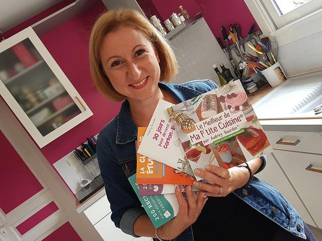 Les Livres Ecrits Par Audrey Bourdin Audrey Cuisine