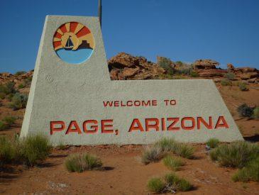 Page, au coeur de l'Ouest Américain