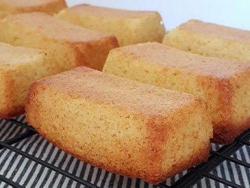 Minis cakes au citron pour un goûter fait-maison